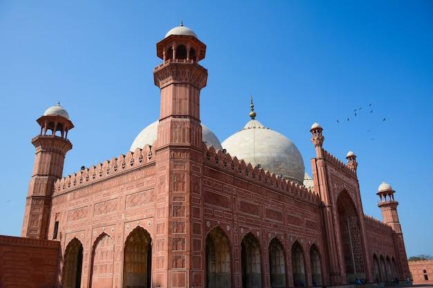 Meczet w badshahi lahore punjab pakistan
