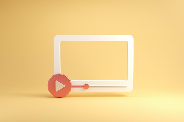 Media społecznościowe, interfejs odtwarzacza multimediów wideo