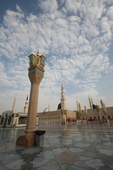 Medina meczet proroka mahometa w medina ksa
