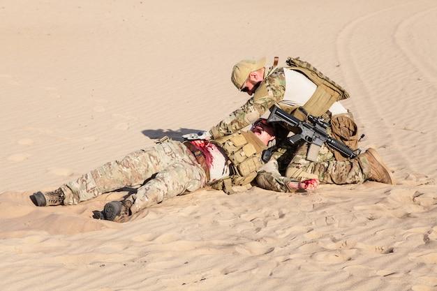 Medycyna bitewna na pustyni
