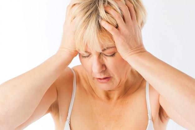 Medycyna i choroby - ból głowy lub migrena