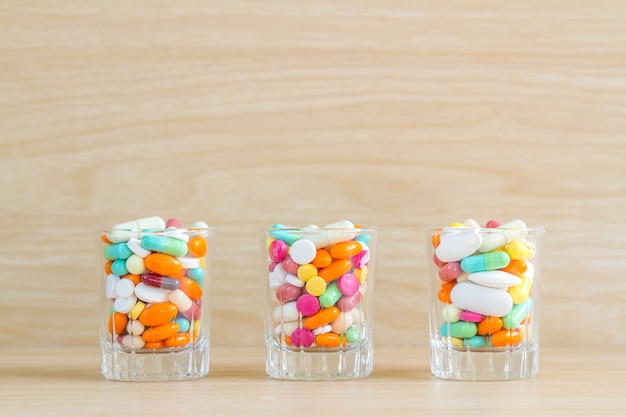 Medycyna pigułka i kapsuła