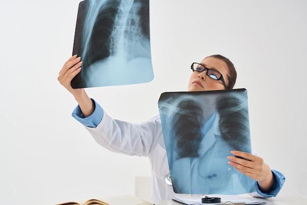 Medycyna xray leczenie szpitalne badania