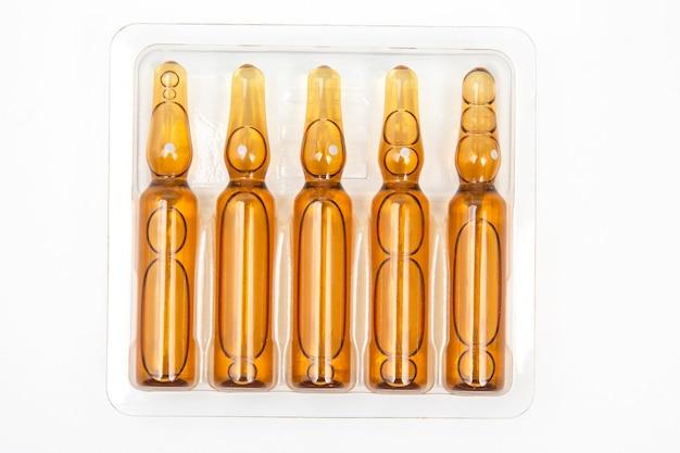 Medyczne ampułki szklane do wstrzykiwań leku