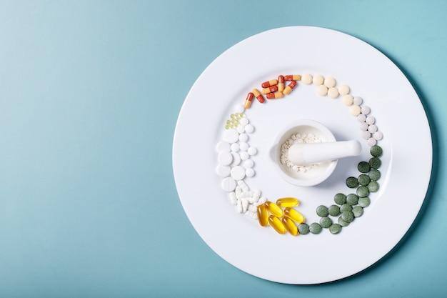 Medyczne pigułki i kapsułki