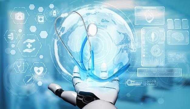 Medyczny robot sztucznej inteligencji