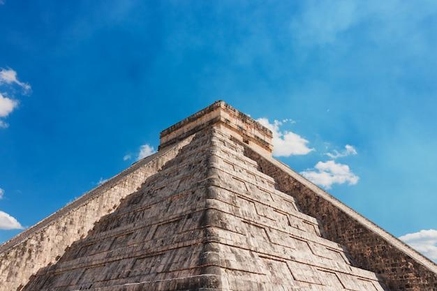Meksyk chichen itza maya ruins