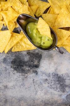 Meksykańskie chipsy nachos