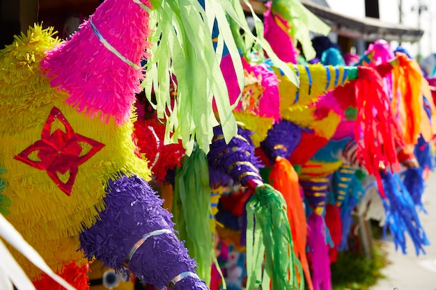 Meksykańskie party pinatas tissue paper