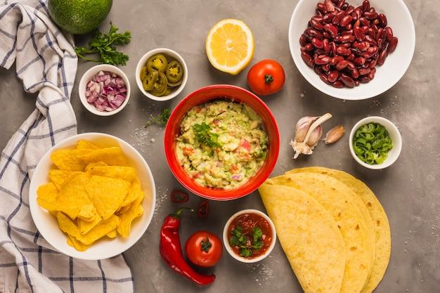 Meksykańskie składniki