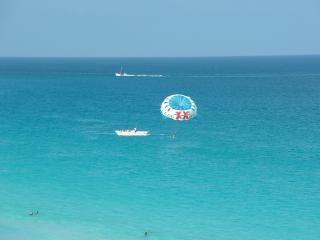 Meksykańskiej plaży, wody