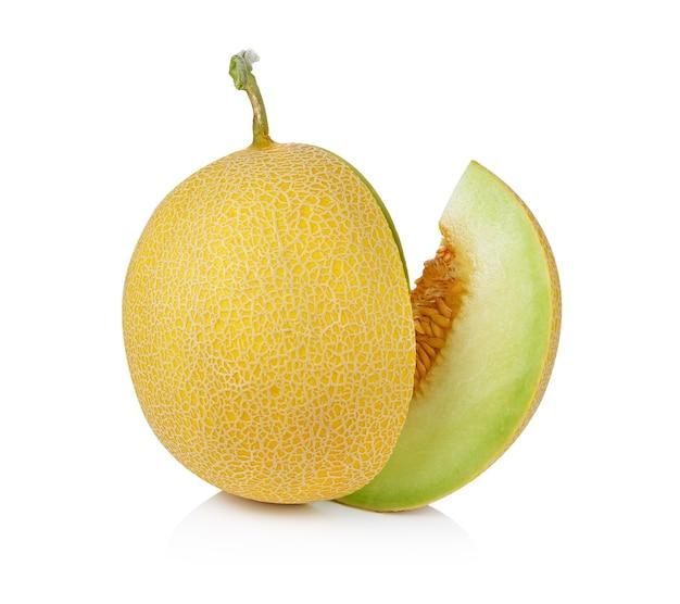 Melon na białym tle