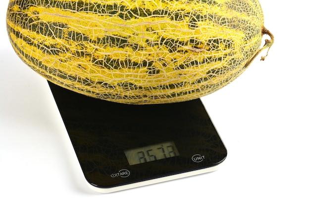 Melon na wadze