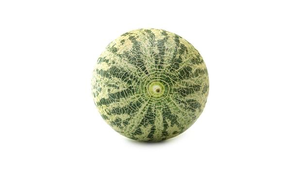 Melon o nietypowych kolorach.