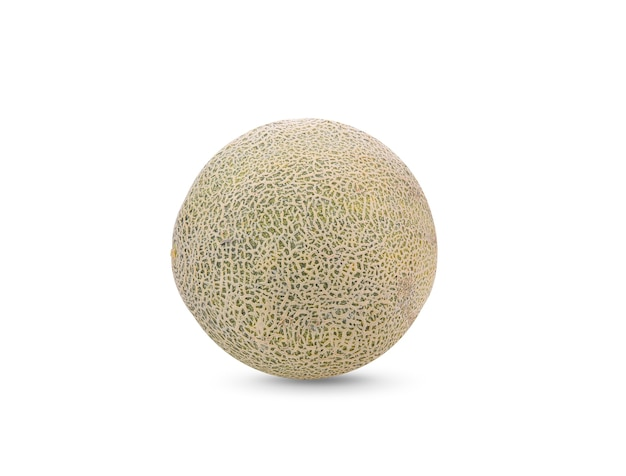 Melon świeży na białym tle