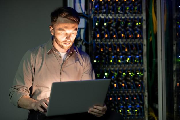 Menedżer serwera w centrum danych