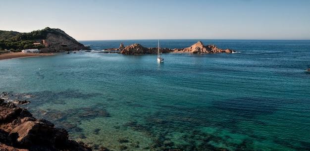 Menorca, seascape hiszpanii