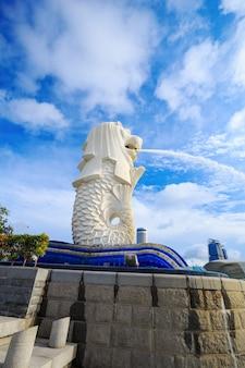 Merlion park w singapurze