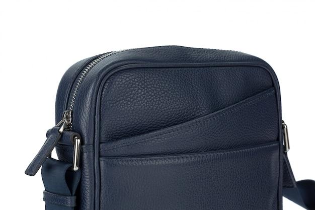 Męska mody rzemienna torebka odizolowywająca