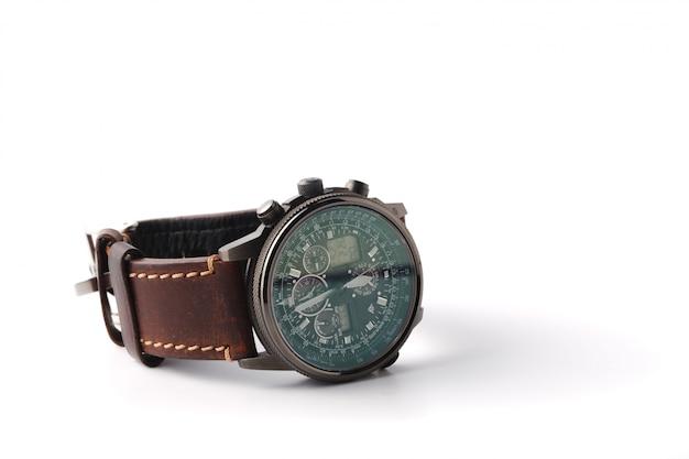 Męski zegarek na rękę