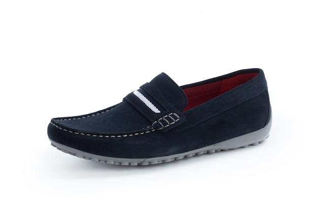 Męskie buty kostki buty na białym tle