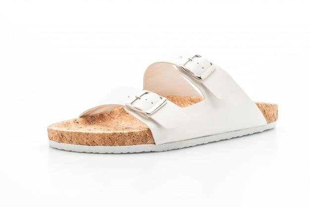 Męskie i damskie (unisex) skórzane sandały