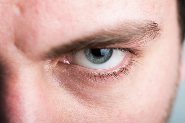 Męskie oko
