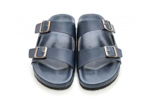 Męskie skórzane sandały