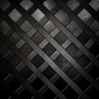 Metal tekstury z siatką