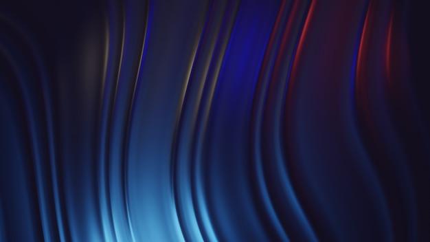 Metaliczna fala abstrakcyjne tło