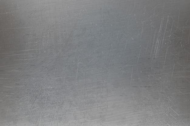 Metaliczna porysowana tekstura powierzchni