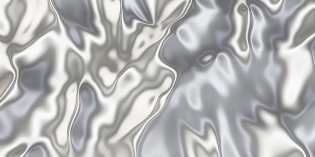Metaliczna powierzchnia tekstura pomarszczonego żelaza pomarszczona powierzchnia błyszcząca ilustracja 3d