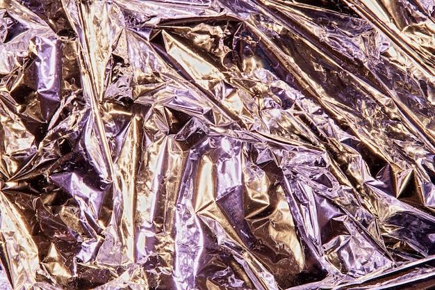 Metaliczna tekstura z bliska