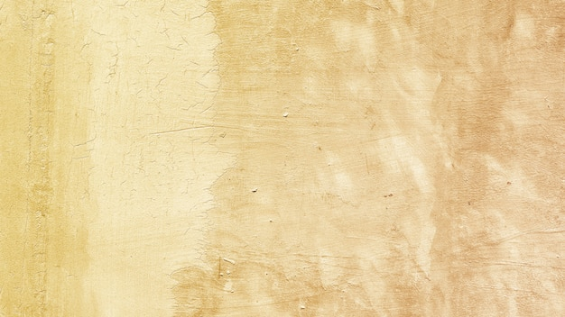 Metaliczny żółty malowane powierzchni tekstury tła
