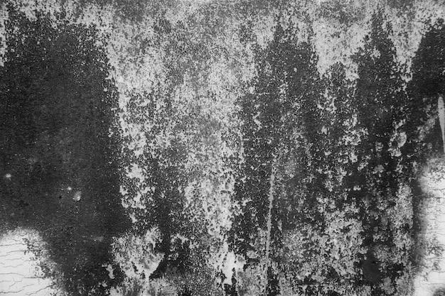 Metalowa struktura z zarysowaniami i pęknięciami pyłu. teksturowanej tle