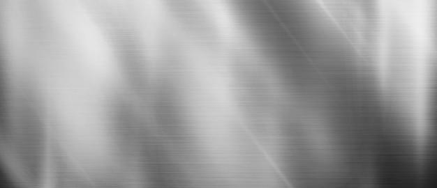 Metalowa tekstura srebrne błyszczące tło