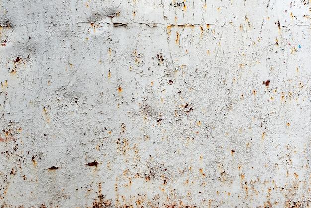 Metalowa tekstura z zadrapaniami i pęknięciami