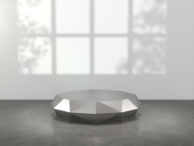 Metalowe cokoły do prezentacji produktów