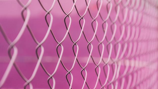 Metalowe ogrodzenie placu zabaw dla dzieci
