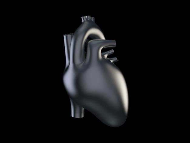 Metalowe serce