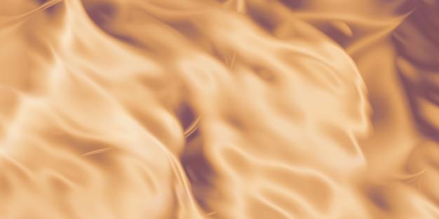 Metalowe smugi powierzchni złotej pomarszczonej stalowej powierzchni błyszczącej powierzchni ilustracja 3d