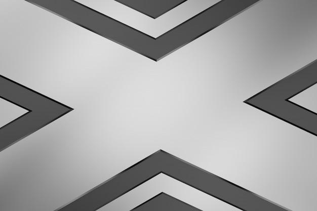 Metalowe tło. renderowanie 3d.