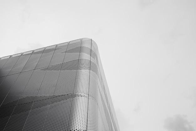 Metalowy budynek biurowy
