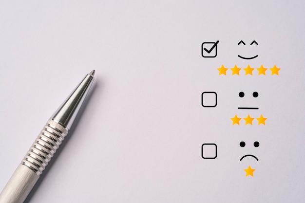 Metalowy długopis położył się po przeprowadzeniu badania satysfakcji klienta
