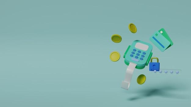 Metody płatności renderowanie 3d