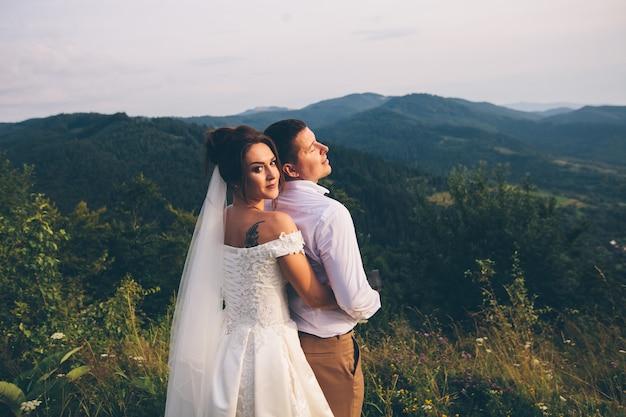Mężczyzna i kobieta w miłości para