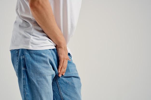 Mężczyzna problemy zdrowotne urologia impotencja niezadowolenie