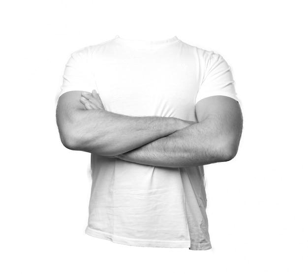 Mężczyzna t koszula