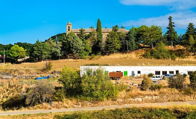 Miasto luesia w prowincji saragossa w hiszpanii