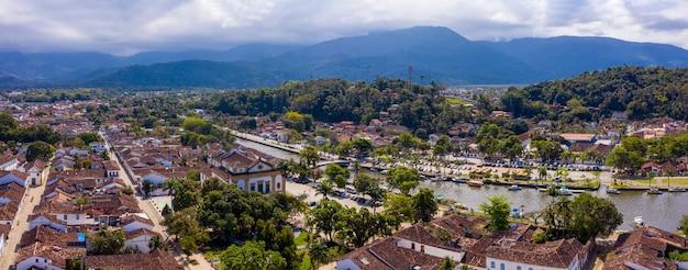 Miasto paraty, stan rio de janeiro, brazylia